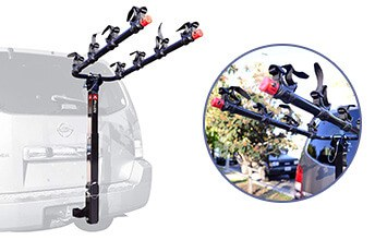 Allen Sports 542RR Deluxe 4-Bike Hitch Bike Rack